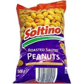 Soltino Peanuts Roasted Salted – соленые орешки (арахис), 500 гр.