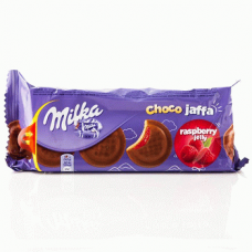 Milka Choco Jaffa Raspberry - бисквитное печенье