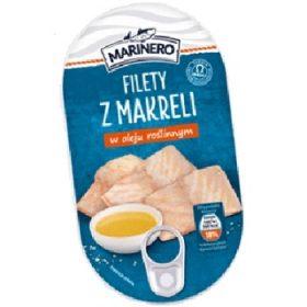 Marinero Filety Makreli w Oleju – скумбрия в подсолнечном масле, 170 гр.