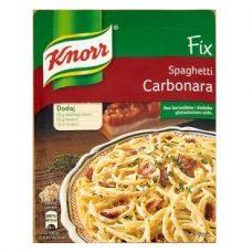 Knorr Spaghetti Carbonara – соус для спагетти, 45 гр./4 порции.