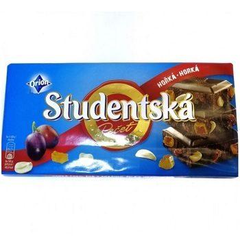 Горький шоколад Studentska Horka-Horka