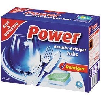 Таблетки для посудомойки Gut&Gunstig Power Tabs