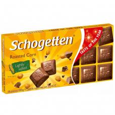 Шоколад с попкорном Schogetten Roasted Corn