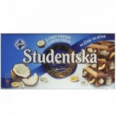 Шоколад Studentska Pecet Cocos