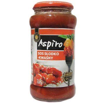 Aspiro Sos Slodko-Kwasny – томатный кисло-сладкий соус, 520 мл.