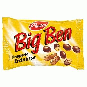 Piasten Big Ben– арахис в молочном шоколаде, 250 гр.