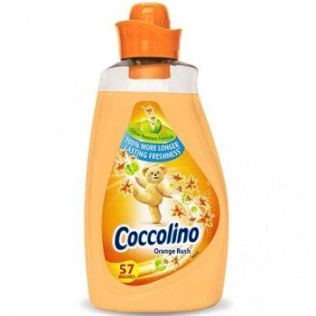 Coccolino Orange Rush – ополаскиватель для белья (цитрус), 2000 мл.