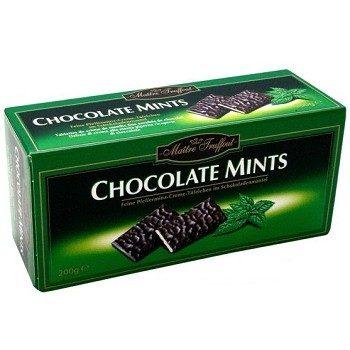 Maitre Fruffout Chocolate Mints – шоколадные конфеты с мятной начинкой, 200 гр.