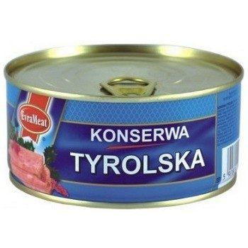 Мясная консерва Evrameat Konserwa Tyrolska