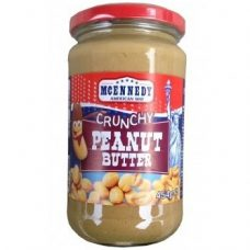 Mcennedy Peanut Butter Crunchy – арахисовая паста с кусочками арахиса, 454 гр.