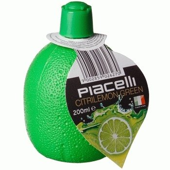 Piacelli Citrilemon Green – концентрированный сок лайма, 200 мл.