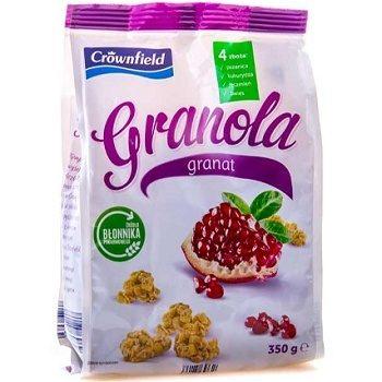 Crownfield Granola Granat – мюсли с гранатом и орехами, 350 гр.
