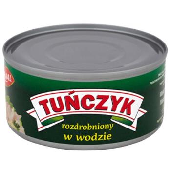 Graal Tunczyk — тунец в собственном соку (кусочками), 185 гр. [Наличие: Днепр]