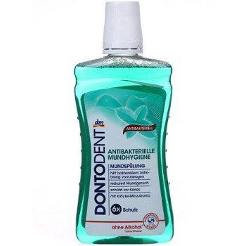 Dontodent Antibakterielle Mundhygiene – ополаскиватель для полости рта, 500 мл.