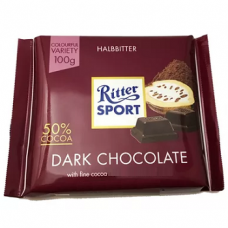 Темный шоколад Ritter Sport Dark Chocolate