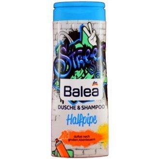 Balea Halfpipe – детский шампунь и гель для душа, 300 мл.