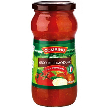 Combino Sos Bolognese – томатный соус с фаршем, 400 мл.