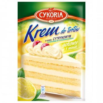 Cykoria Krem Cytrynowyy – крем для тортов лимонный, 100 гр.