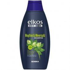 Elkos Hopfen & Meersalz – мужской шампунь с хмелем, 500 мл.