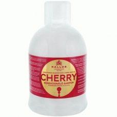 Kallos Cherry – шампунь-кондиционер с маслом косточек вишни, 1000 мл.
