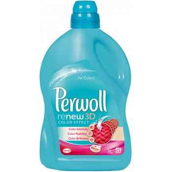 Perwoll Color Effect 3D – гель для деликатного цветного белья, 3000 мл.