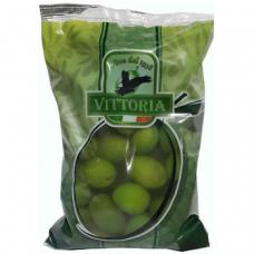 Vittoria Olive – оливки зеленые с косточкой, 500 гр.
