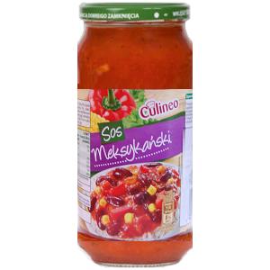 Culineo Sos Meksykanski – томатный соус со специями и фасолью, 520 мл