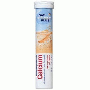 DAS gesunde PLUS Calcium – витаминные шипучие таблетки (кальций), 20 шт.