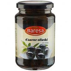 Baresa Czarne Oliwki – черные оливки без косточки, 340 гр.