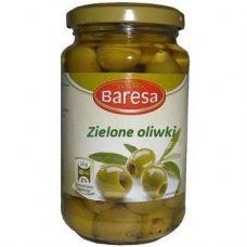 Baresa Zielone Oliwki – зеленые оливки без косточек, 340 гр.