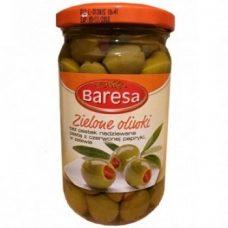 Оливки с паприкой Baresa Zielone Oliwki z Paprika
