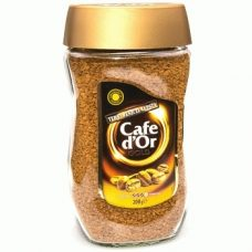 Cafe D`Or Gold 3 – растворимый сублимированный кофе, 200 гр.