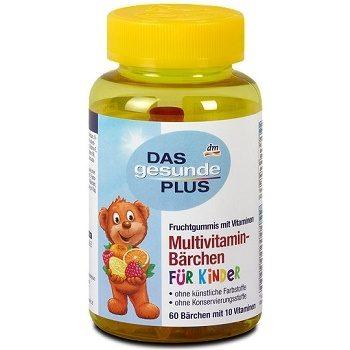DAS Gesunde Plus Multivitamin-Bärchen – детский витаминный комплекс «Мишки», 60 шт.
