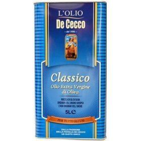 De Cecco Classico – оливковое масло, 5000 мл.