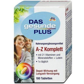 Витаминный комплекс DAS Gesunde PLUS A-Z Komplett