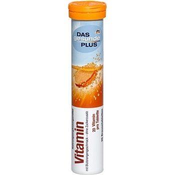 DAS gesunde PLUS Vitamin D3 – витаминные шипучие таблетки, 20 шт.