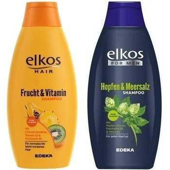 Elkos Hopfen / Fruch & Vitamin - мужской и женский шампунь, 500х2 мл. (2 шт.)