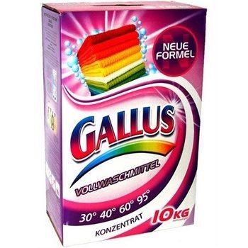 Gallus Vollwaschmittel – универсальный стиральный порошок, 10 кг.
