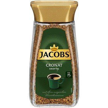 Jacobs Cronat Kraftig – растворимый сублимированный кофе, 200 гр.