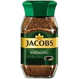 Jacobs Kronung – растворимый кофе (робуста), 200 гр.