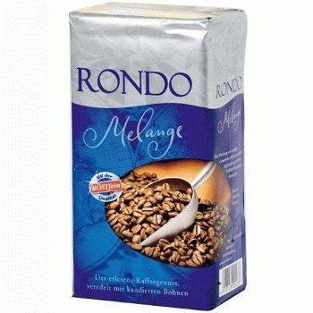 Rondo Melange – молотый кофе со вкусом карамели, 500 гр.
