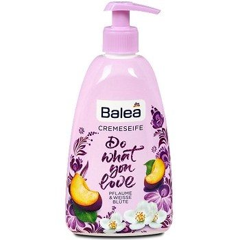 Balea Do What You Love – жидкое крем-мыло для рук (слива), 500 мл.