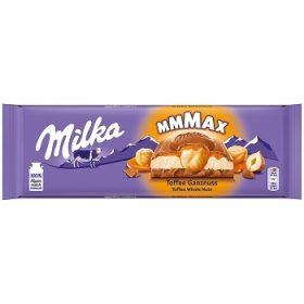 Milka Toffee Ganznuss – молочный шоколад с лесными орехами, 300 гр.