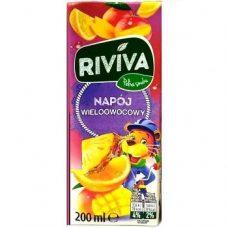 Riviva Wieloowocowy – детский мультифруктовый сок, 200 мл.