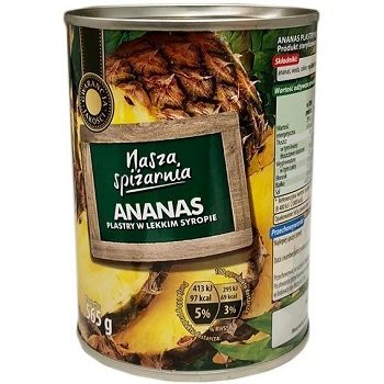 Консервированный ананас Nasza Spizarnia Ananas