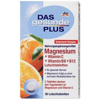 Витаминный комплекс DAS Gesunde PLUS Magnesium +C +B6 +B12