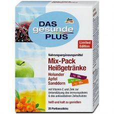 DAS Gesunde PLUS Mix-Pack Heißgetränke – горячий напиток с витаминами (в стиках), 20 шт.