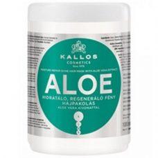 Kallos Aloe Mask – увлажняющая маска для восстановления блеска, 1000 мл.