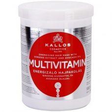 Kallos Multivitamin Mask – маска для волос с экстрактом женьшеня, 1000 мл.