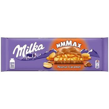 Milka Peanut Caramel – альпийский шоколад с арахисом и карамелью, 276 гр.